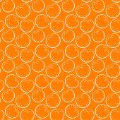 无缝的橙色 — 图库矢量图片