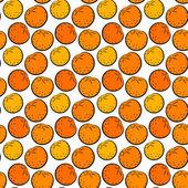 Dikişsiz turuncu — Stok Vektör