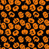 Seamless pattern di halloween. — Vettoriale Stock
