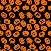 Padrão sem emenda de halloween. — Vetorial Stock