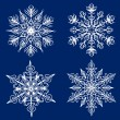 Snowflakes set — Stock Vector #55572137