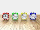 Relógio despertador 3d — Fotografia Stock