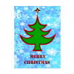 Merry Christmas 3d card — Stock Photo #58134929