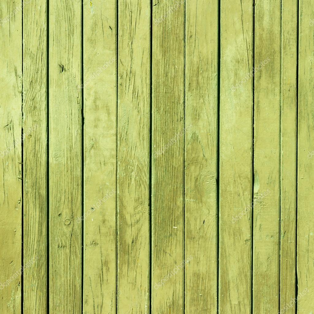旧的绿色油漆木材纹理的自然形态