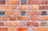 Background of red brick wall pattern texture. — Stock Photo