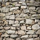 Part of a stone wall, for background or texture. — Stock Photo