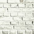 Background texture of a old white brick wall  — Stock Photo #58803143