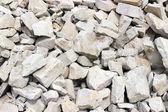Uma pilha de rocha - material de construção — Fotografia Stock