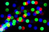 Blurred lights abstract color background — Stock Photo