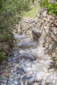Oman path Saiq Plateau — Stock Photo