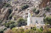Mosque Saiq Plateau — Stock Photo