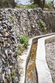 Oman Saiq Plateau water delivery — Stock Photo