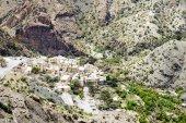 Oman village Saiq Plateau — Stock Photo