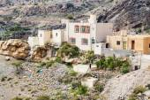 Houses Saiq Plateau — Stock Photo