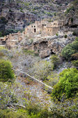 Ruins Wadi Bani Habib — Stock Photo