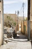Streets Saiq Plateau — Stock Photo