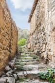 Treppen wadi bani habib — Stockfoto