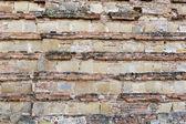 Abstract wall Montepulciano — Stock Photo