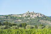 View to Montemassi Tuscany — Stock Photo