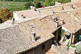 Rooftops Montepulciano — Stock Photo