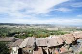 Landscape Montepulciano — Stock Photo
