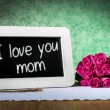 Slate blackboard mother day — Stock Photo #61876933