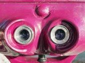 Ocular of telescope — Stock Photo