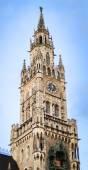 Tower town hall Munich — Stock Photo