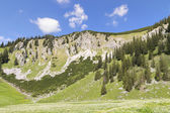 Summit Jaegerkamp Bavaria Alps — Stock Photo