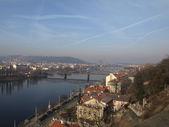 View on Vltava River, Prague — Stock Photo