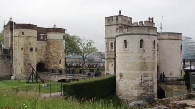 Tower of London — Stock Video