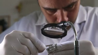 Gemstones professionally crafted — Stock Video