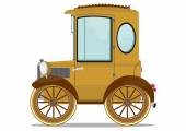Carro velho — Vetorial Stock