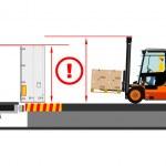 Forklift truck — Stock Vector #54397569