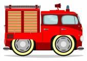 Camion dei pompieri — Vettoriale Stock