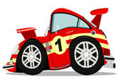 Sportscar — Stock Vector