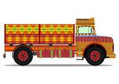 Jingle truck — Wektor stockowy