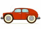 śmieszne kreskówka samochodu — Wektor stockowy
