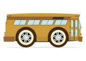 古いバス — ストックベクタ