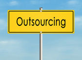 Outsourcing. — Stock Photo
