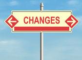 Changes — Stock Photo