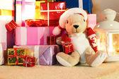 Christmas gifs — Stock Photo
