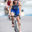 Постер, плакат: Asa Annerstedt from Sweden after the transition to cycling at th