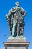 Statue of Charles XIII in the Kings garden, Stockholm — Stockfoto