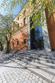 Вход в городской библиотеке или городская на Observatorie — Стоковое фото