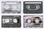 Various music cassettes — Stock Photo