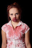 Female zombie — Stock Photo
