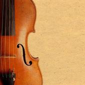 Violin vintage background — Stock Photo