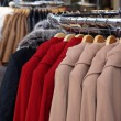 Winter jackets and coats for sale — Stockfoto #57659083