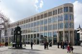 Kroepcke square in Hannover Germany — Foto Stock